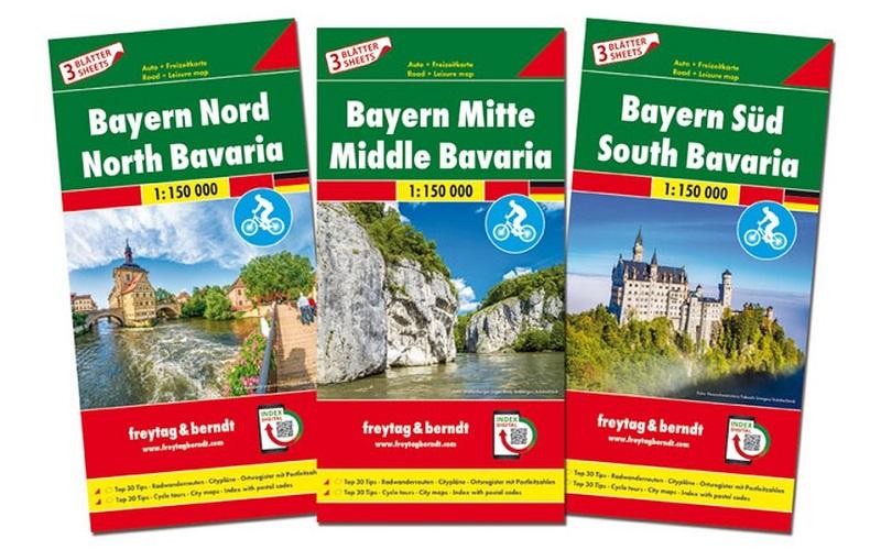 Baviera (nord - centro - sud sett.)