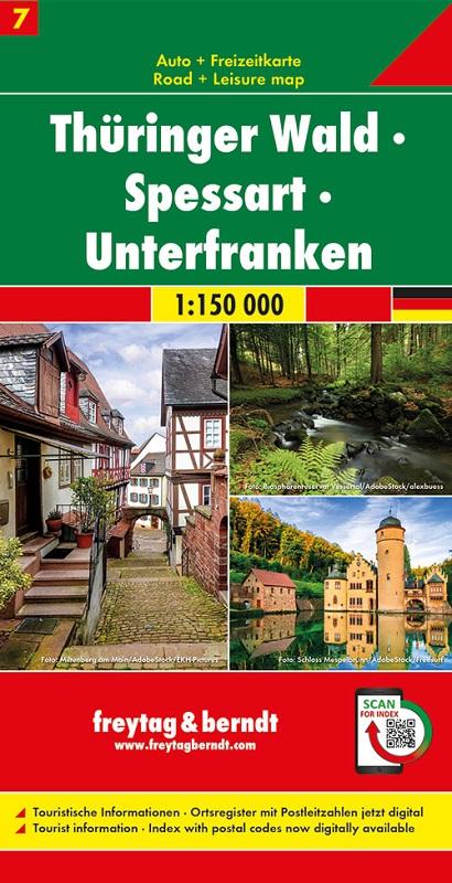 Foresta della Turingia - Spessart - Bassa Franconia