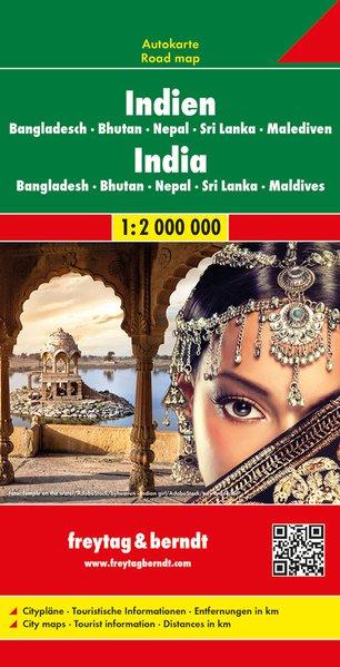 India - Nepal - Bangladesh - Bhutan - Sri Lanka