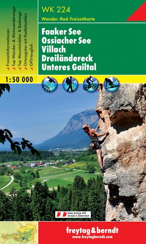 Faaker See – Ossiacher See – Villach – Dreiländereck – Unteres Gailtal