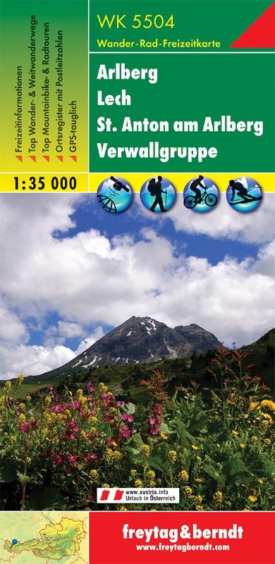 Arlberg – Lech – St. Anton am Arlberg – Verwallgruppe