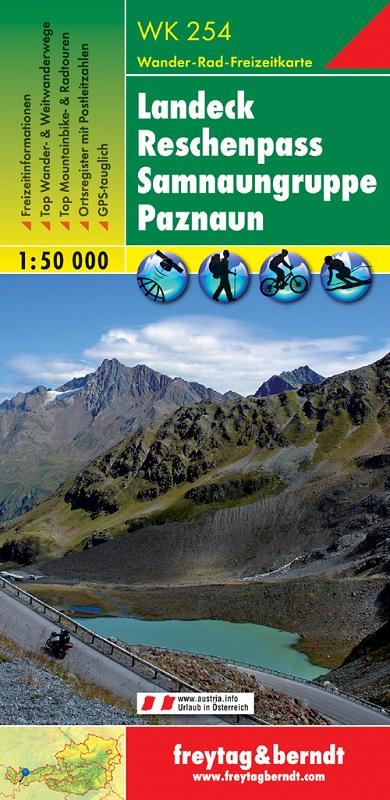 Landeck, Reschenpass, Samnaungruppe, Paznaun