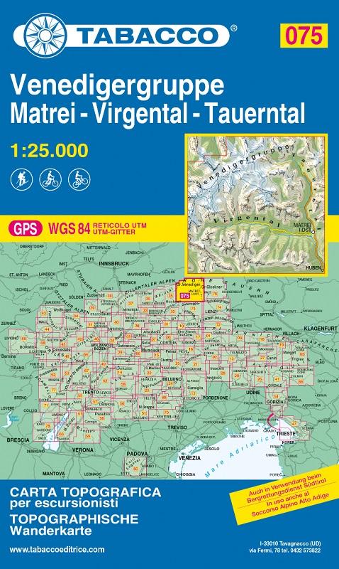 T075 Venedigergruppe, Matrei, Virgental, Tauerntal