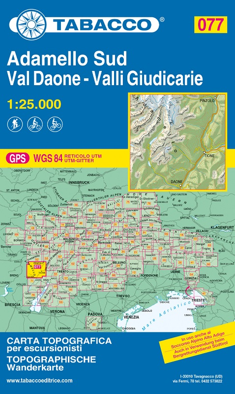 T077 Adamello Sud, Val Daone, Valli Giudicarie