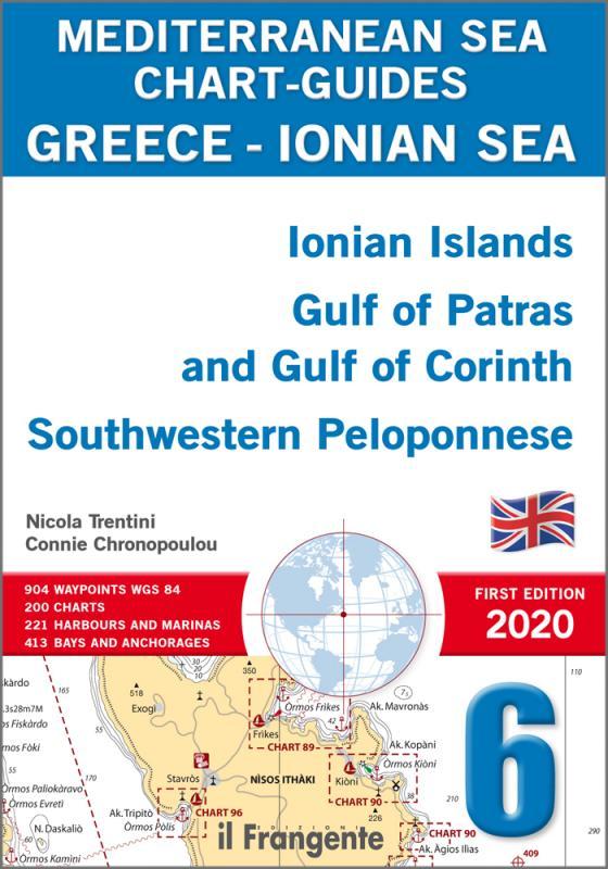 GREECE - IONIAN SEA  Ionian Islands Gulf of Patras and Gulf of Corinth Southwestern Peloponnese