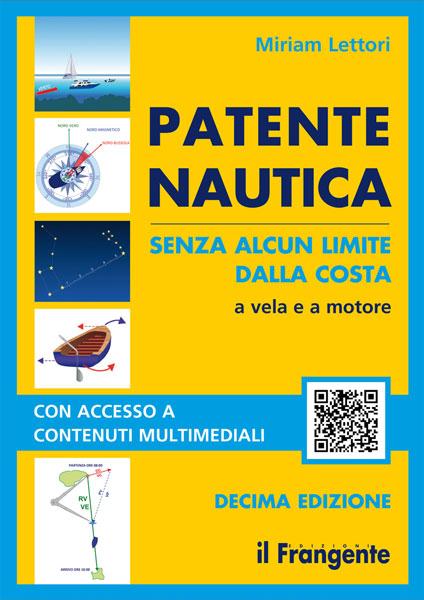 Patente nautica senza alcun limite dalla costa a vela e a motore